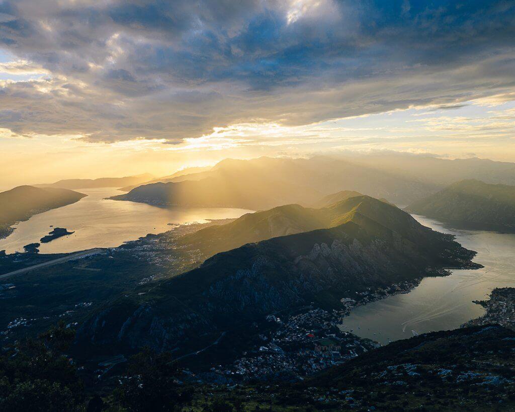 природные пейзажи Черногория