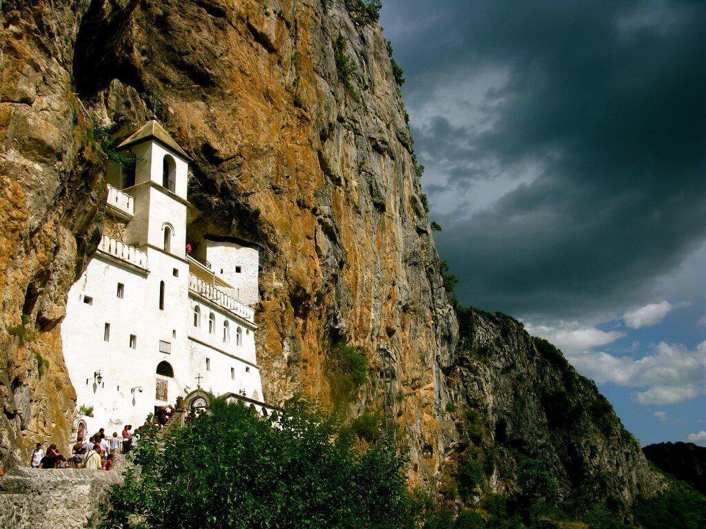 Острожский монастырь под Даниловградом