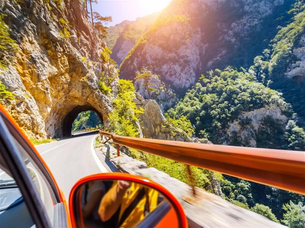 горная дорога Черногория