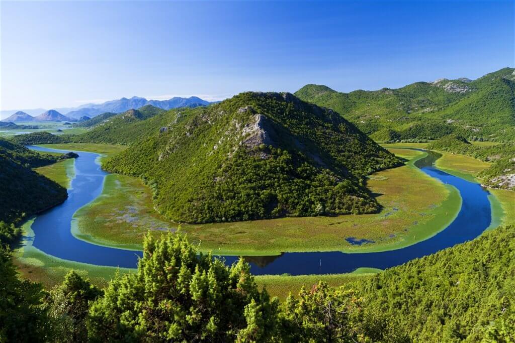 Черногория Скадарское озеро