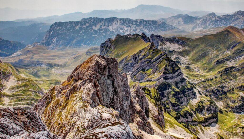 гора Боботов Кук Думитор Черногория