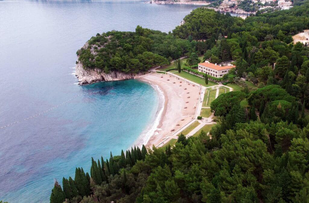 Kraljičina plaža Черногория
