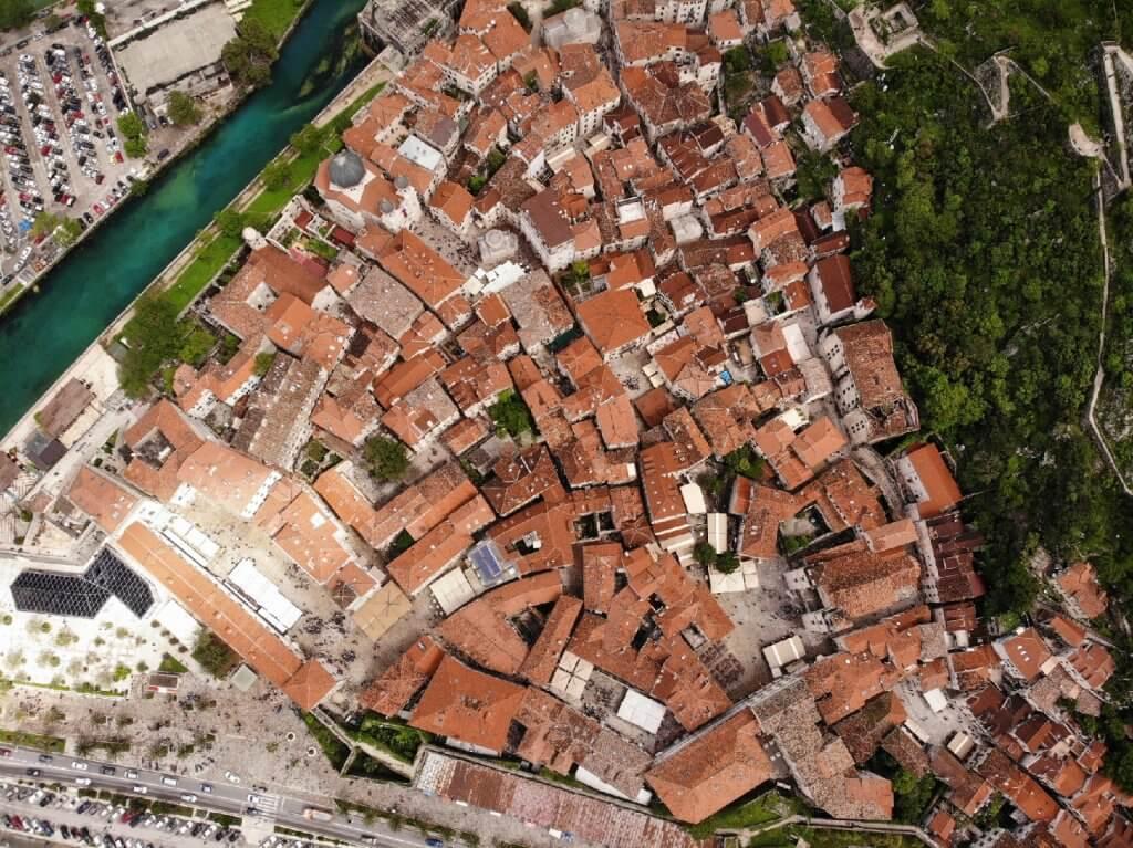 фотографии с квадрокоптера в Черногории