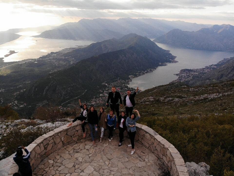 парки Черногории фото с квадрокоптера