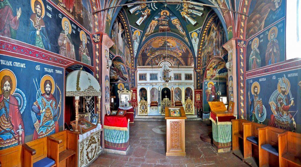 Монастырь Режевичи фрески