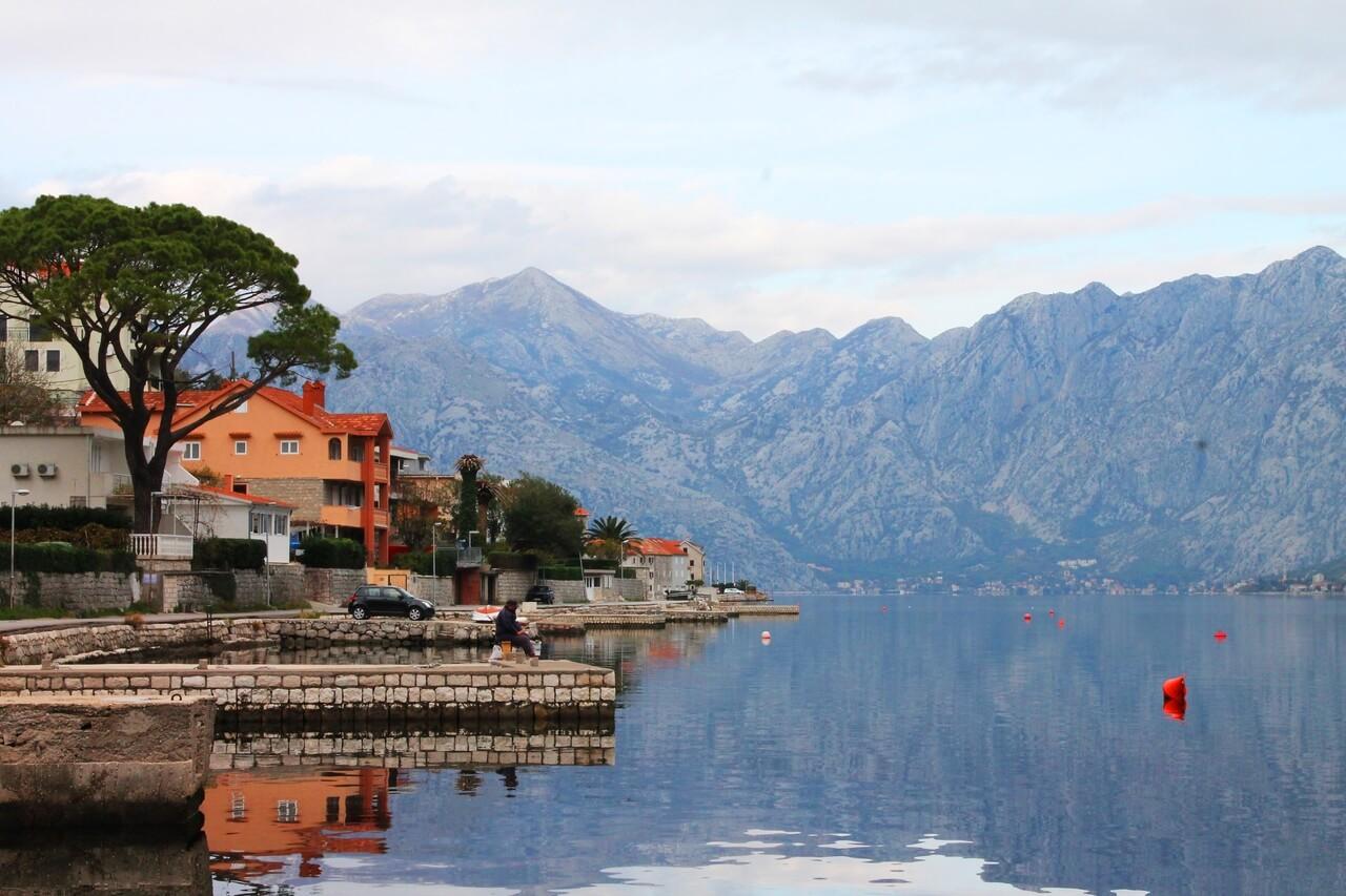 Ноябрьская погода не благоприятствует посещению Черногории