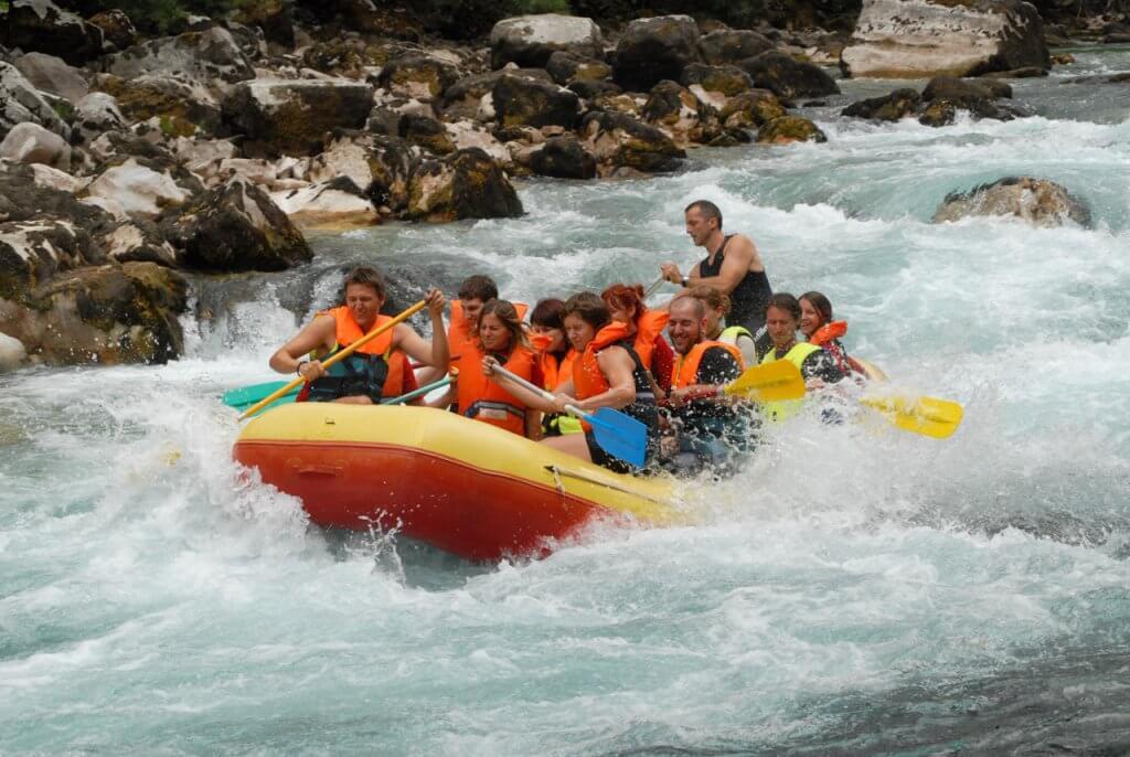 Рафтинг по реке Тара Черногория