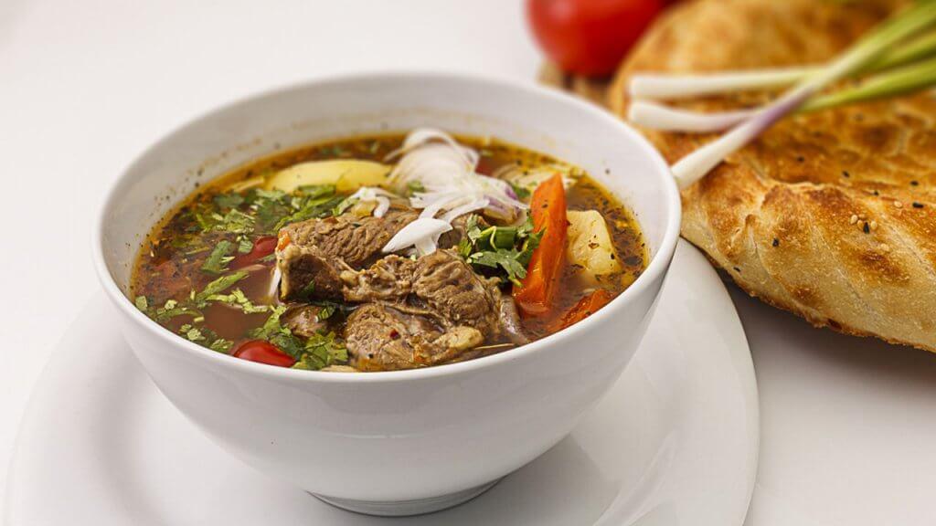 суп чорба Черногория