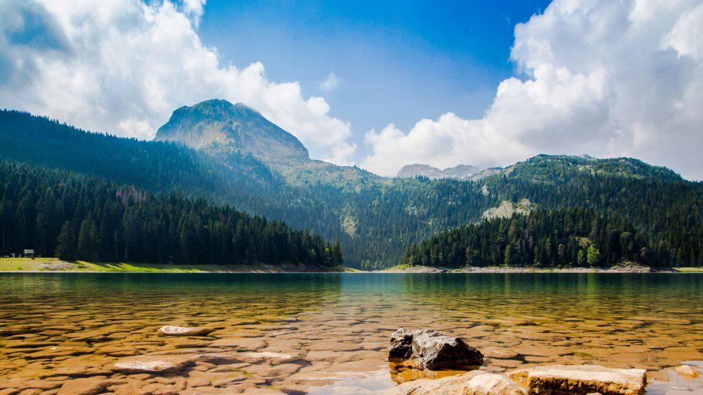 водные пейзажи Черногории