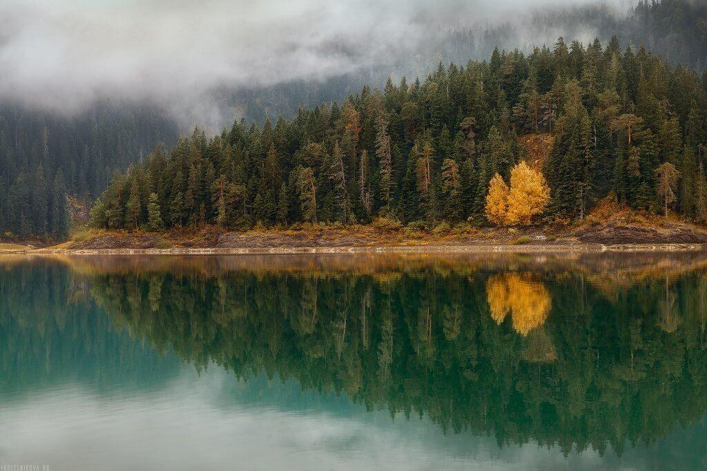 осенний пейзаж Черногория