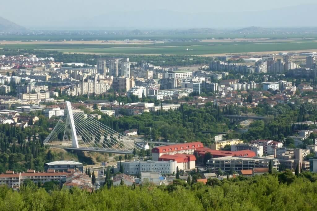 Подгорица — столица Черногории