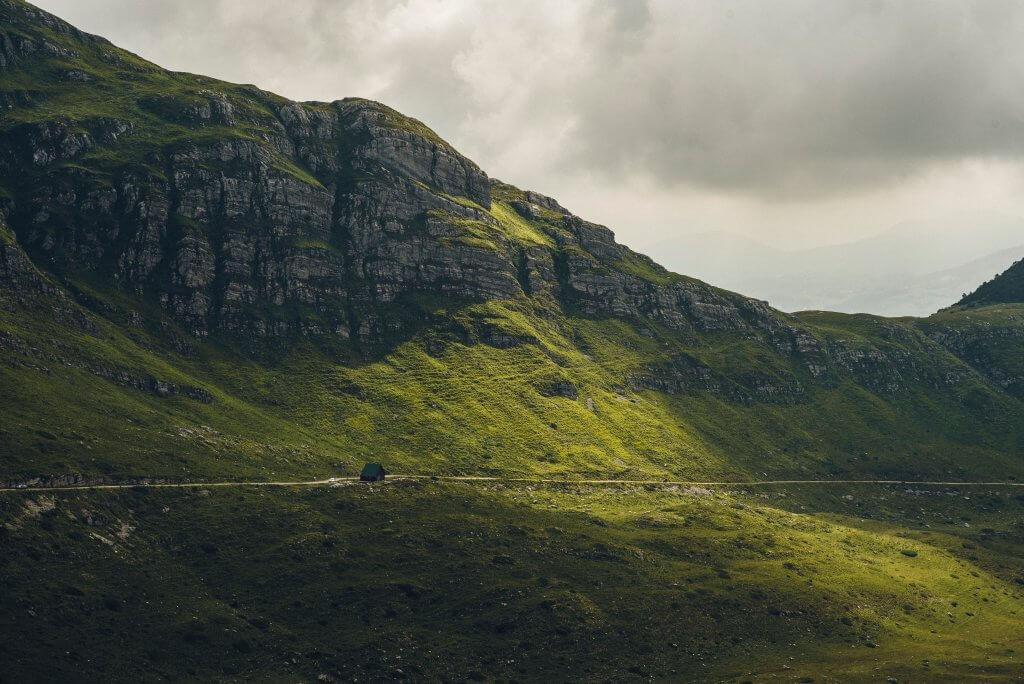 горы красота Черногории