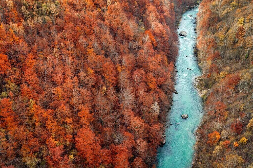 осень в Черногории фото
