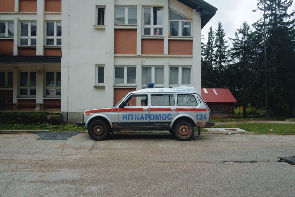 автомобили в Черногории