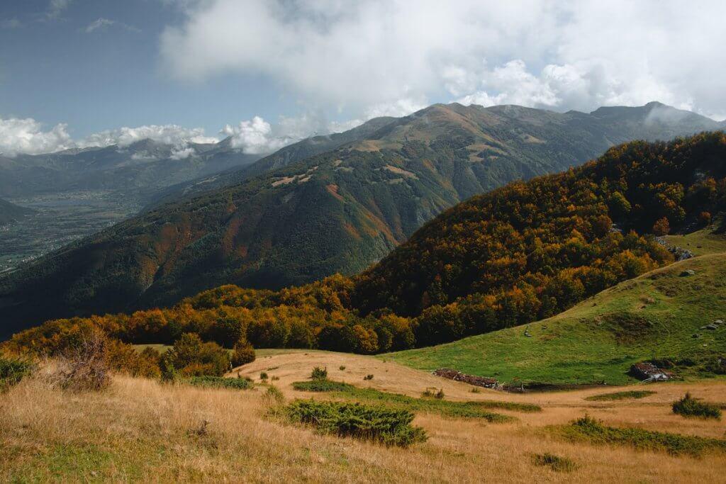 горные пейзажи Черногория