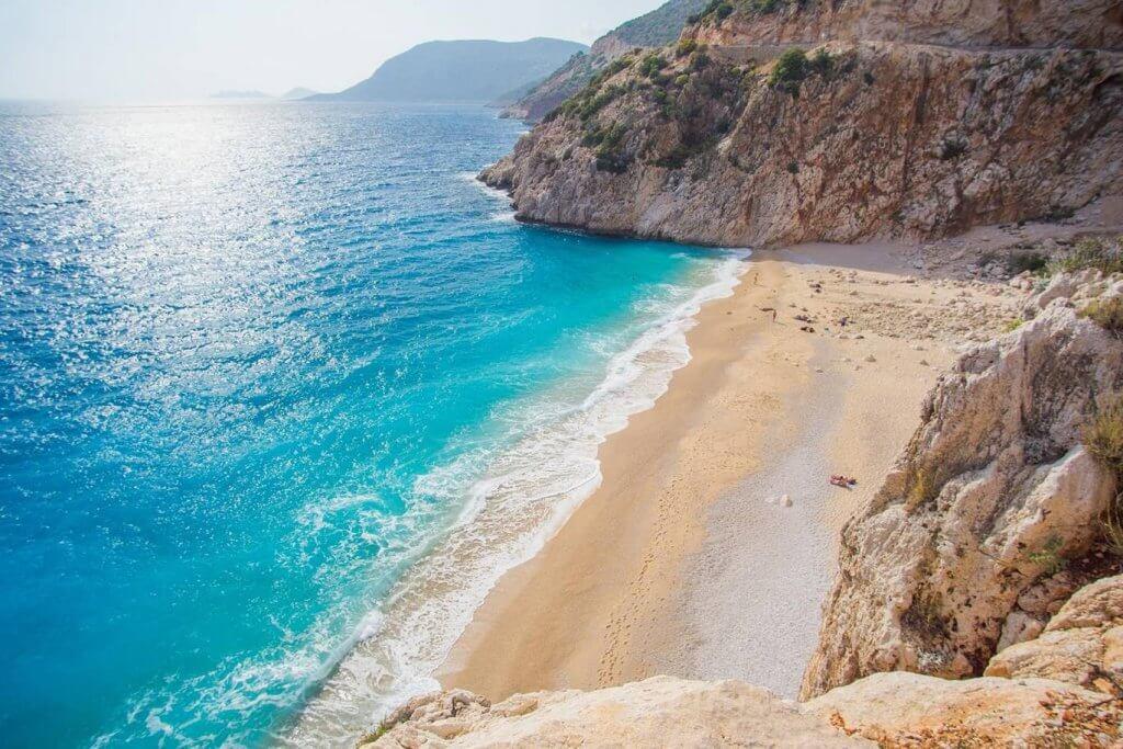 Kaputaş — Kas пляж