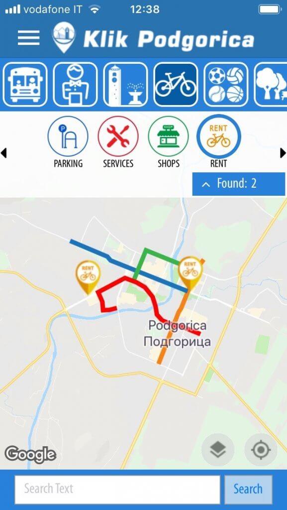 Аренда велосипедов в Подгорице