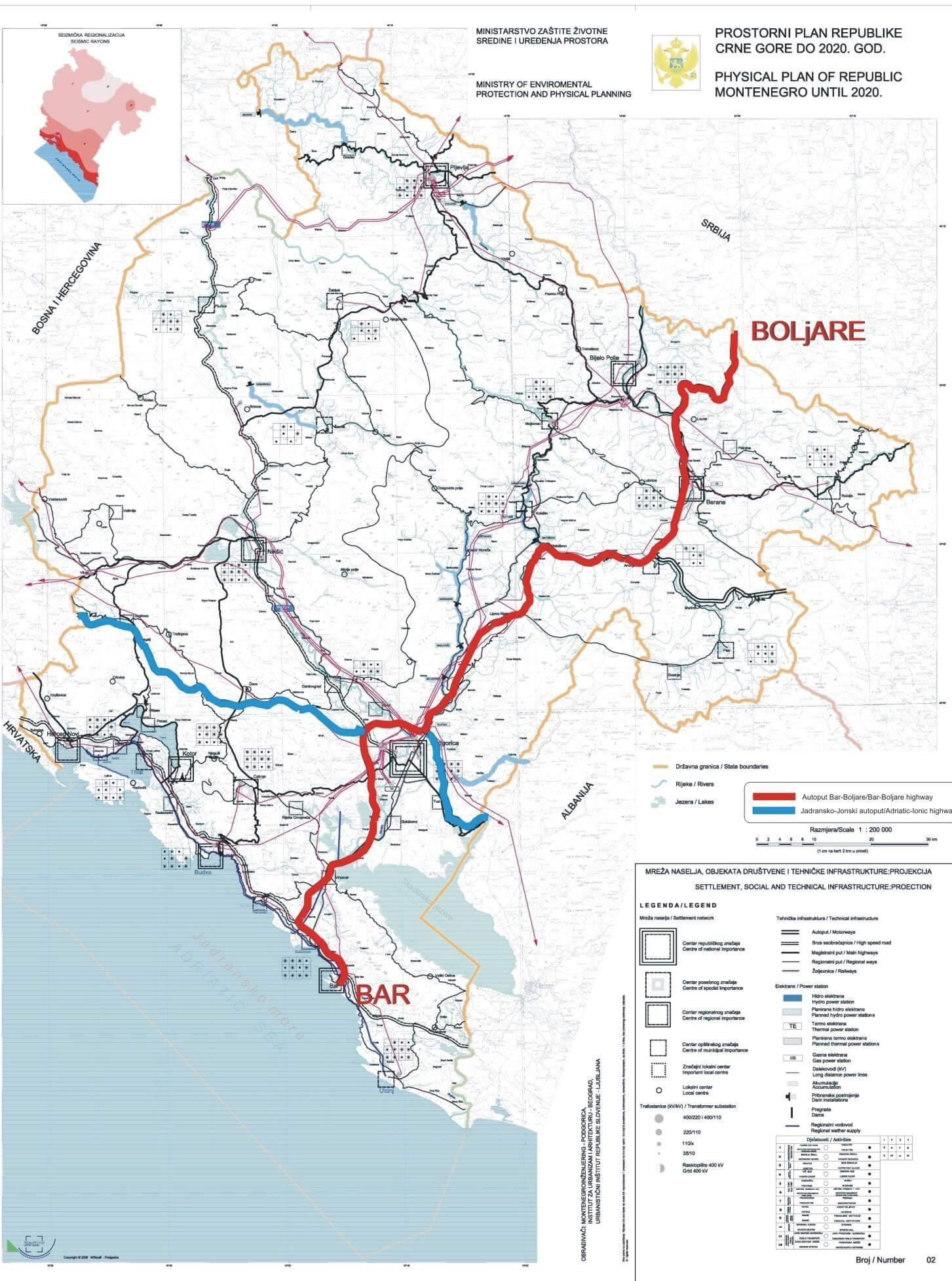 путь из Бара в Белград