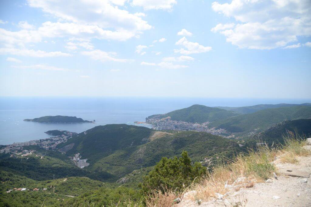 горы в Цетине
