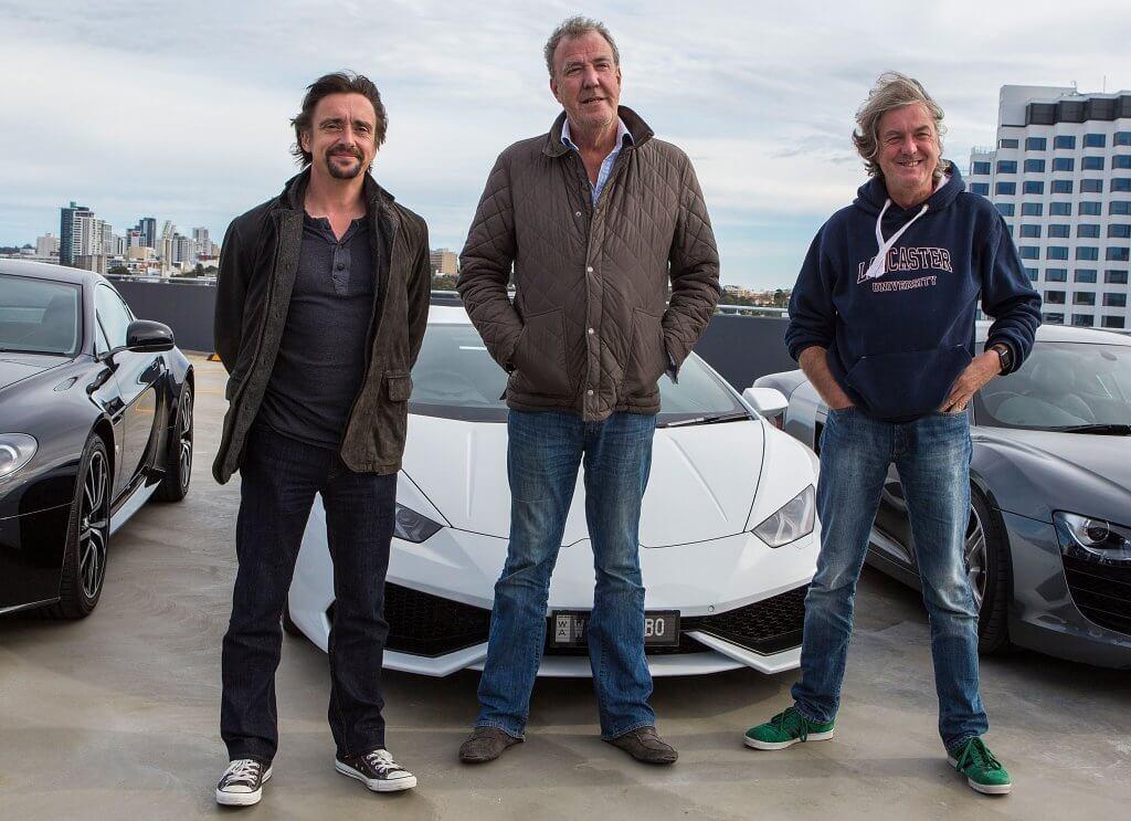 команда Top Gear