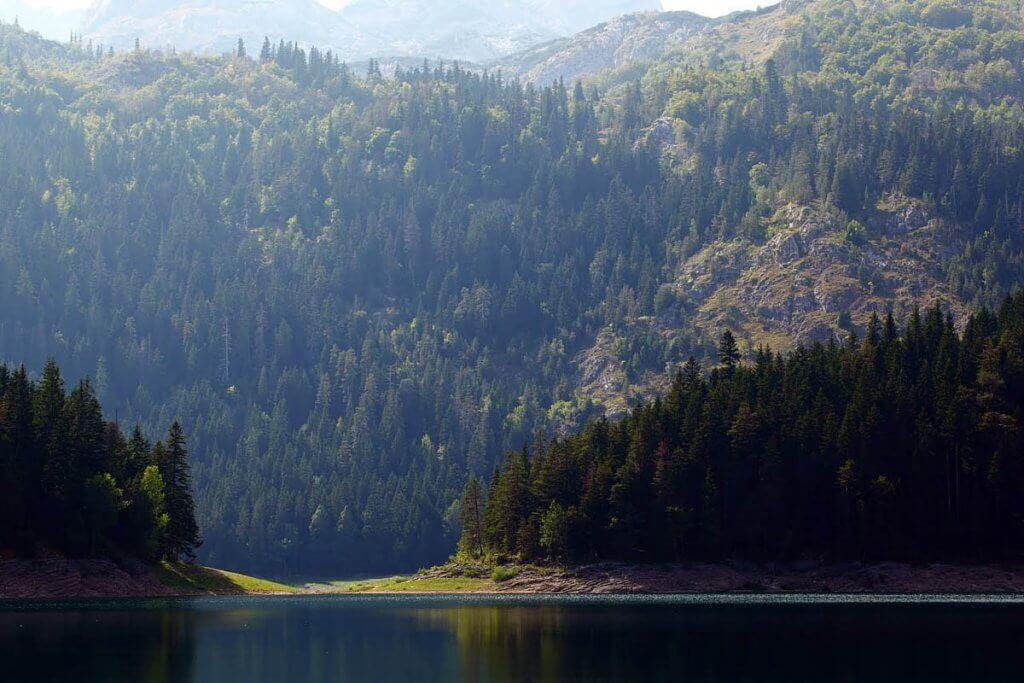 Черное озеро Думитор