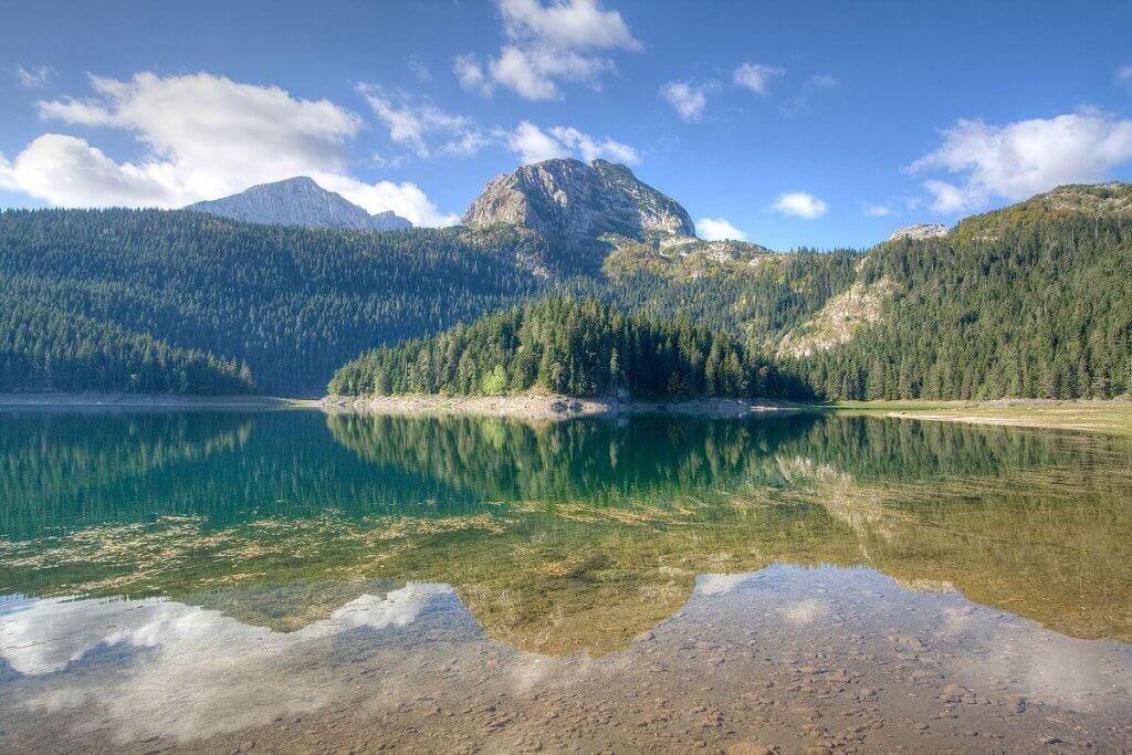 Черное озеро Черногоря