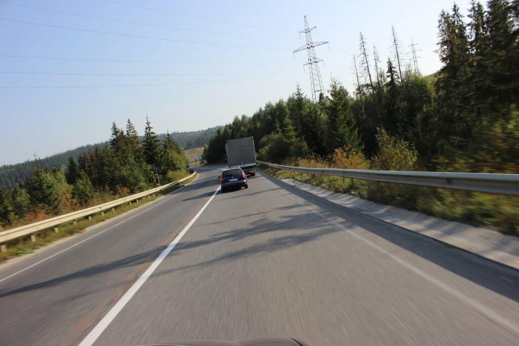 Украина дорога в Черногорию