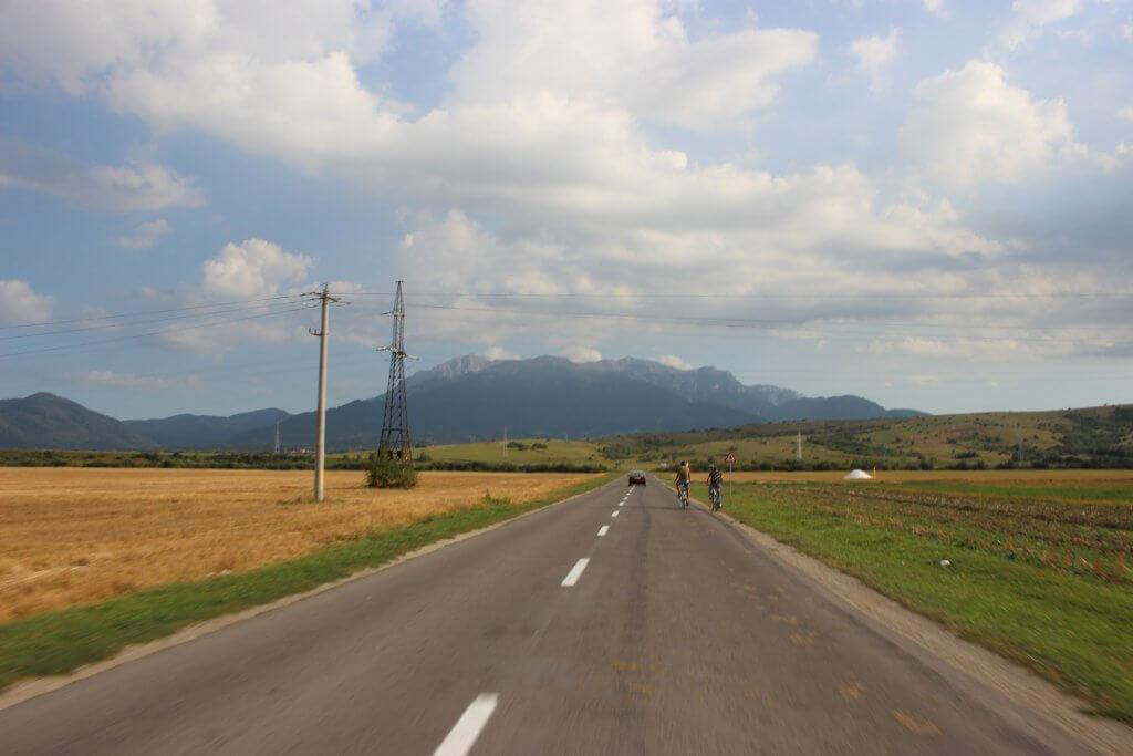 дорога в Черногорию
