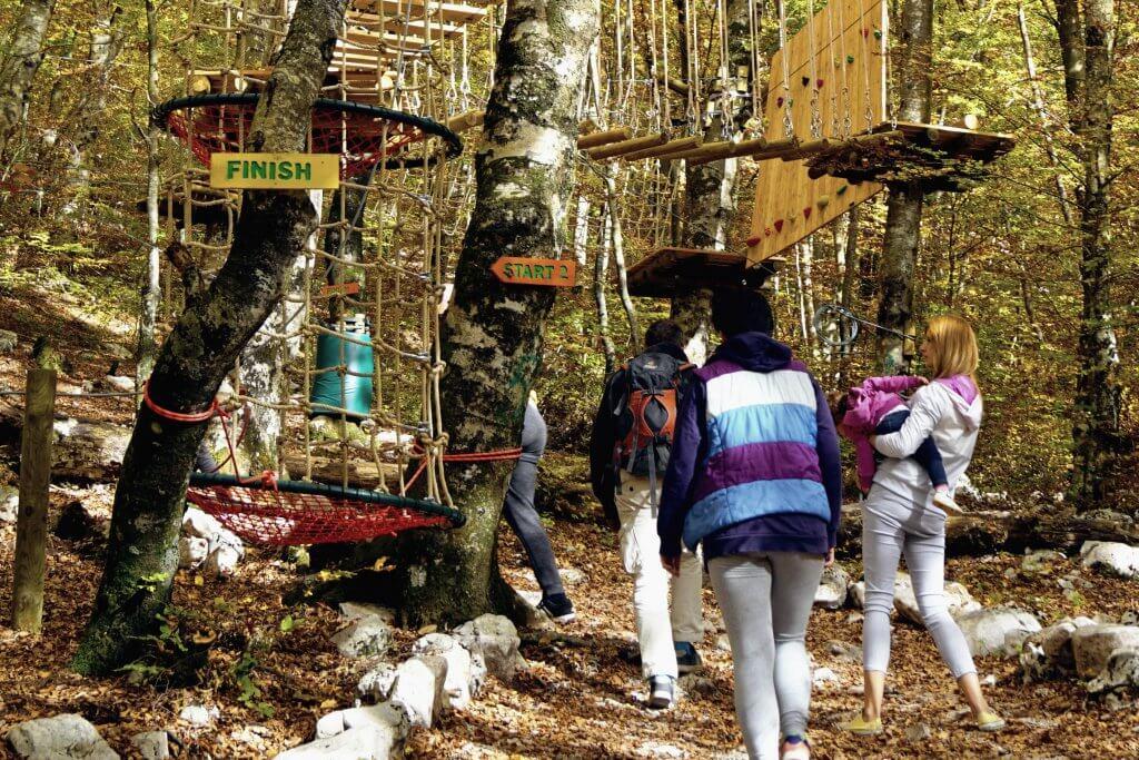 Приключенческий парк в Херцег-Нови посетили более 13 тысяч человек за год с момента открытия