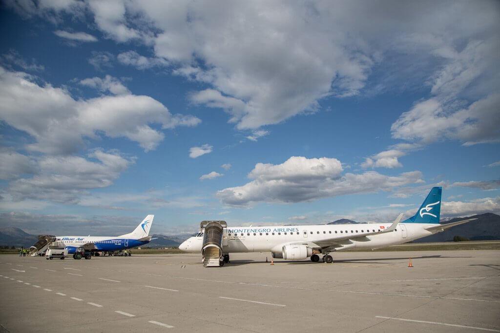 Отзывы оMontenegro Airlines