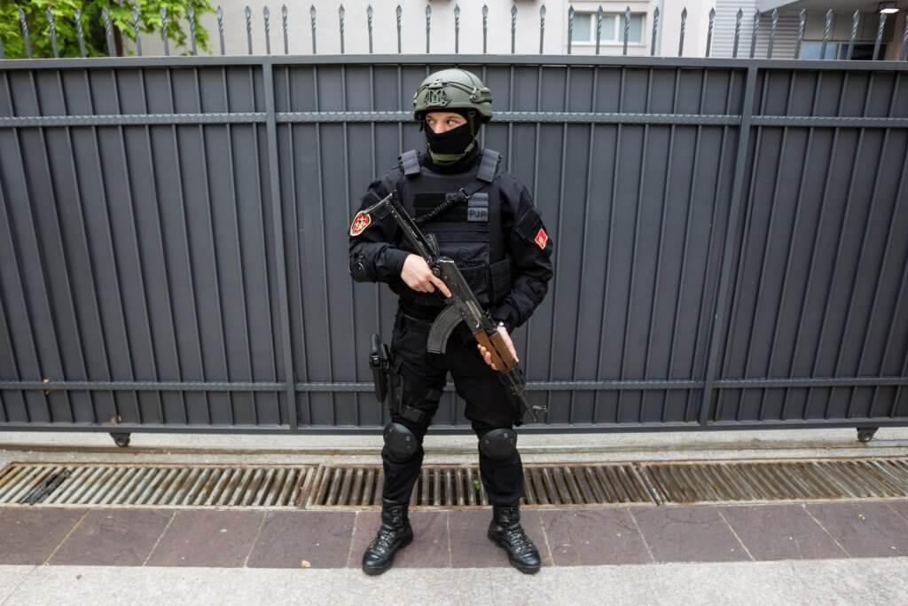 охрана порядка в Черногории