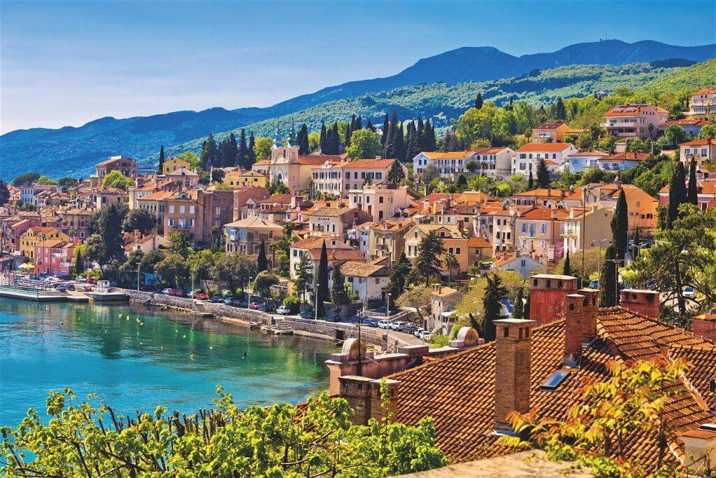 берега Хорватии