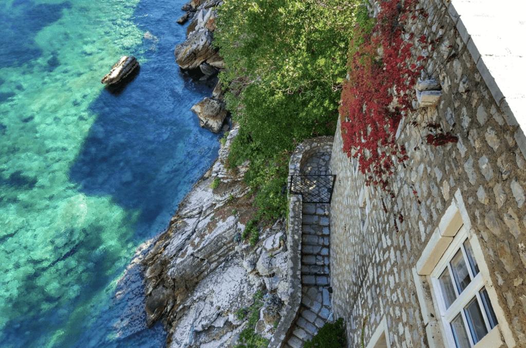 История острова Свети Стефан