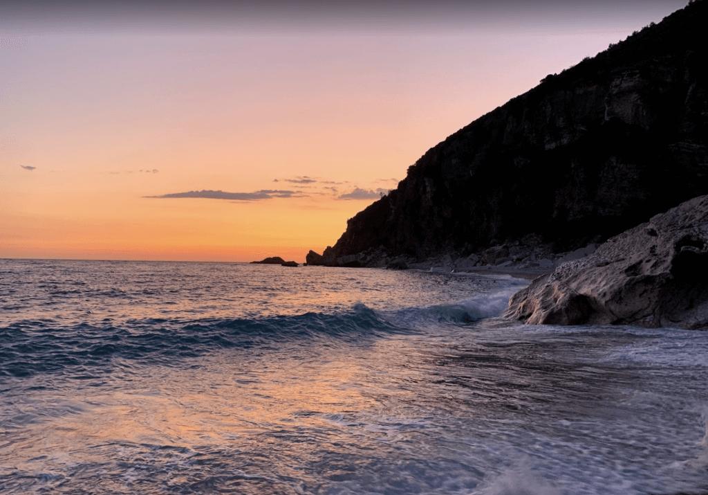Пляж Перазича До закат