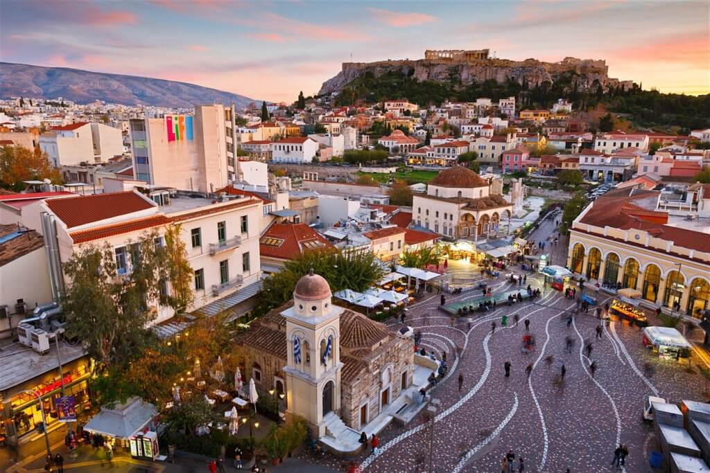 греческие Афины