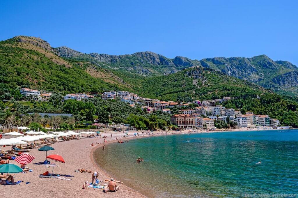 Пляжи Свети Стефана