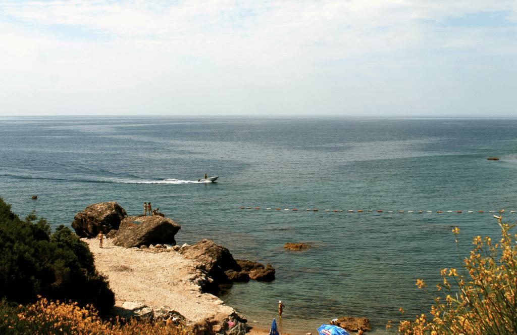 Пляж Штрбина