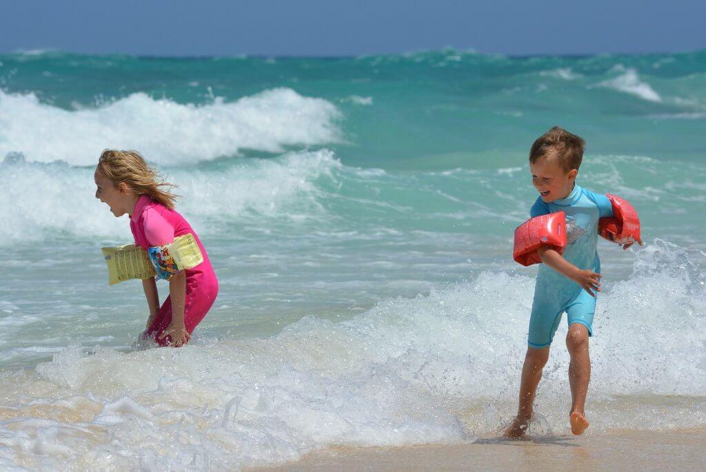 море с детьми