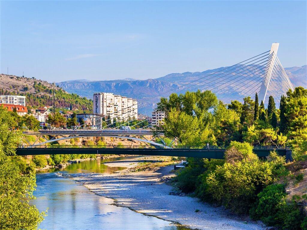столица Черногории - Подгорица